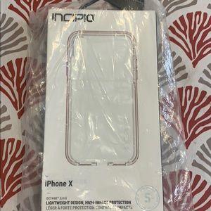 Clear Iphone X Incipio Case!